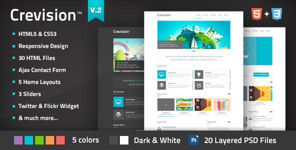 Crevision - Responsive WordPress Theme - 11