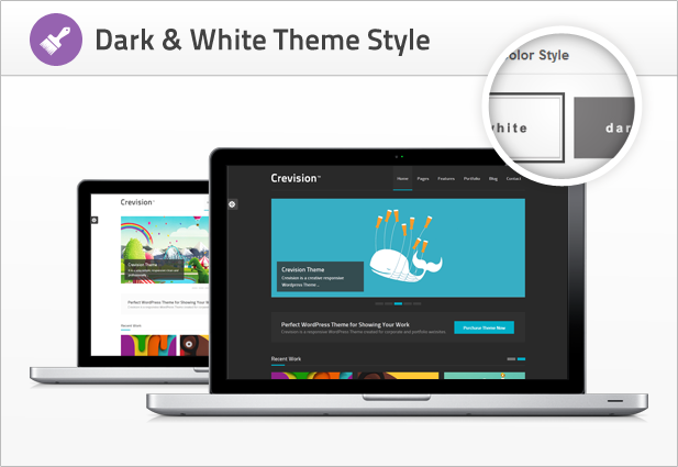 Crevision - Responsive WordPress Theme - 6