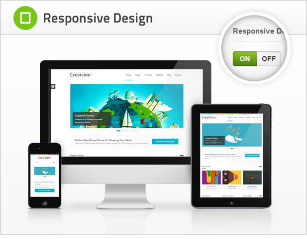 Crevision - Responsive WordPress Theme Download