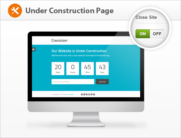 Crevision - Responsive WordPress Theme - 4