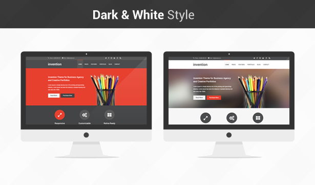 Invention - Responsive HTML5 Template - 5